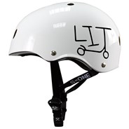 Lifer LIT Helmet - White Gloss