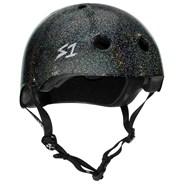 Mega Lifer Helmet - Black Gloss Glitter