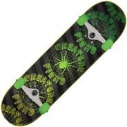 Fiend Web SK8 Black/Green Complete Skateboard