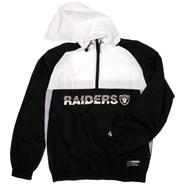 NFL Colour Block Windbreaker - Oakland Raiders