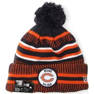 NFL Sideline Bobble Knit 2019 Home Game Beanie - Chicago Bears