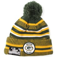 NFL Sideline Bobble Knit 2019 Home Game Beanie - Green Bay Packers