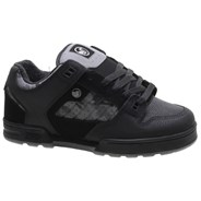 Militia Snow Black/Camo Leather Shoe