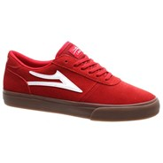 Manchester Red/Gum Suede Shoe