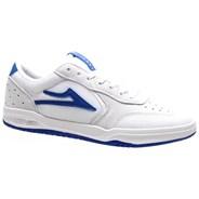 Atlantic White/Blue Suede Shoe