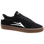 Newport Black/Gum Suede Shoe