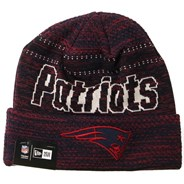 Engineered Fit Cuff Knit Beanie - New England Patriots