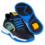 Bandit Black/Blue/Saffron Kids Heely Shoe
