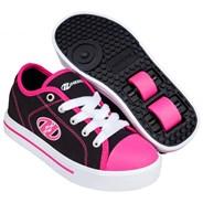 Classic Black/White/Hot Pink Kids HX2 Heely Shoe
