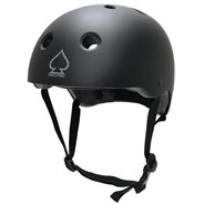 Prime Certified Black Skate/BMX Helmet