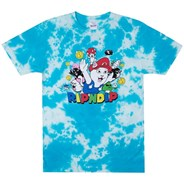Nermio S/S T-Shirt - Blue Cloud Wash