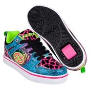 Motion 2.0 Cyan/Pink/Purple/Animal Print Heely Shoe