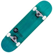 Logo Stain Teal 8inch Complete Skateboard