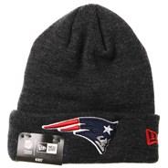Kids Heather Essential Knit Beanie - New England Patriots