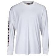 Bar Cross L/S T-Shirt - White