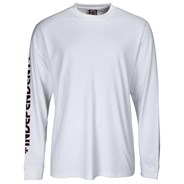 Bar/Cross L/S T-Shirt - White
