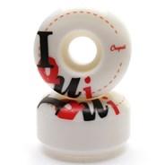 Iqui Wide Shape Skateboard Wheels - 52mm