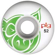 Head 52mm Skateboard Wheels - Green