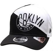 NBA Team Split Stretch Snapback Cap - Brooklyn Nets