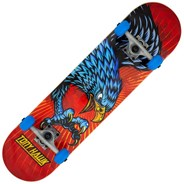 Diving Hawk Red Complete Skateboard 180 Signature Series