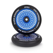 Spiro Hollow Core Scooter Wheel and Bearings - Blue