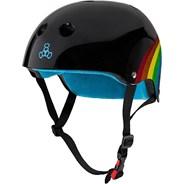 Sweatsaver Helmet - Rainbow Sparkle Black