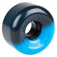 Street Snakes 2 tone 62mm Roller Skate Wheels - Black/Blue