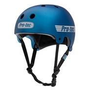 Old School Certified Helmet - Matte Metallic Blue