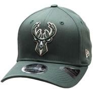 Stretch Snap 9FIFTY Snapback Cap - Milwaukee Bucks