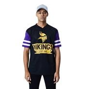 NFL Contrast Sleeve Oversized Tee - Minnesota Vikings
