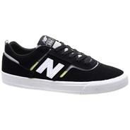 New Balance Numeric 306 Jamie Foy Black/White Suede Shoe