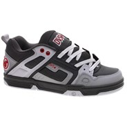 Comanche Charcoal/White/Red Nubuck Shoe