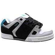 Celsius Black/Charcoal/White Nubuck Shoe