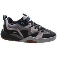Devious Charcoal/Black/Turquoise Nubuck Shoe