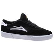 Cambridge Black/White Suede Shoe