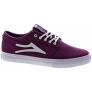 Griffin Purple Canvas Vegan Shoe