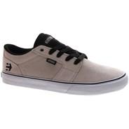 Barge LS White/Black/Silver Shoe