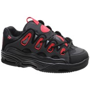 D3 2001 Black/Red/Fade Shoe