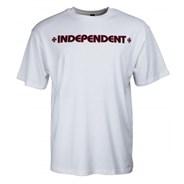 Bar Cross S/S T-Shirt - White