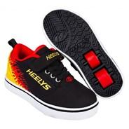 Pro 20 X2 Black/Flames Kids Heely X2 Shoe