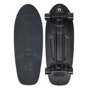 Complete 29inch Plastic Surfskate Skateboard - High-Line Blackout