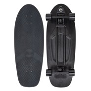 Complete 29inch Plastic Surfskate Skateboard - High-Line Blackout