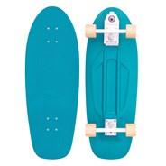 Complete 29inch Plastic Surfskate Skateboard - High-Line Ocean Mist