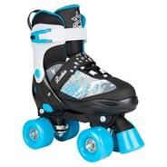 Ace Junior Children's Quad Adjustable Roller Skates - Black/Blue