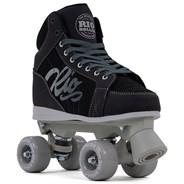 Lumina Quad Roller Skates - Black/Grey
