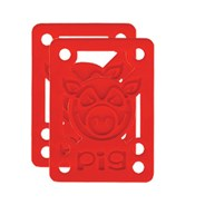 Piles Hard Risers 1/8 inch Red