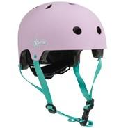 Adjustable Kids Helmet - Pink/Green