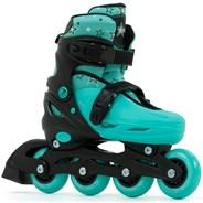 Plasma Black/Green Kids Recreational Inline Skates