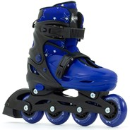 Plasma Black/Blue Kids Recreational Inline Skates