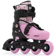 Plasma Black/Pink Kids Recreational Inline Skates
